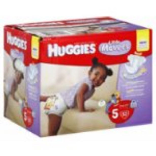 Save $3.00 On Huggies Diapers Huge Pack - Expires: 10/30/2021 deals at