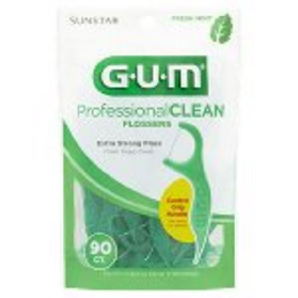 Save $.20 On GUM Professional Flossers - Expires: 04/10/2021 offer at $0.2