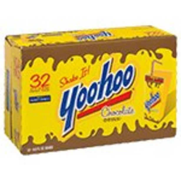 Save $2.00 On Yoo-Hoo Chocolate Drink 32-Pack - Expires: 10/23/2021 deals at