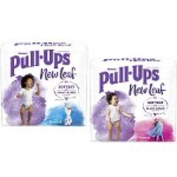 Save $3.00 on Pull-Ups® New Leaf™ Training Pants - Expires: 09/04/2021 deals at