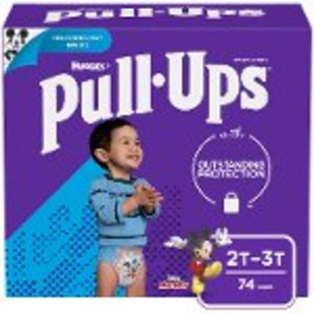 Save $3.00 On Huggies Pull-Ups Huge Pack - Expires: 10/16/2021 deals at
