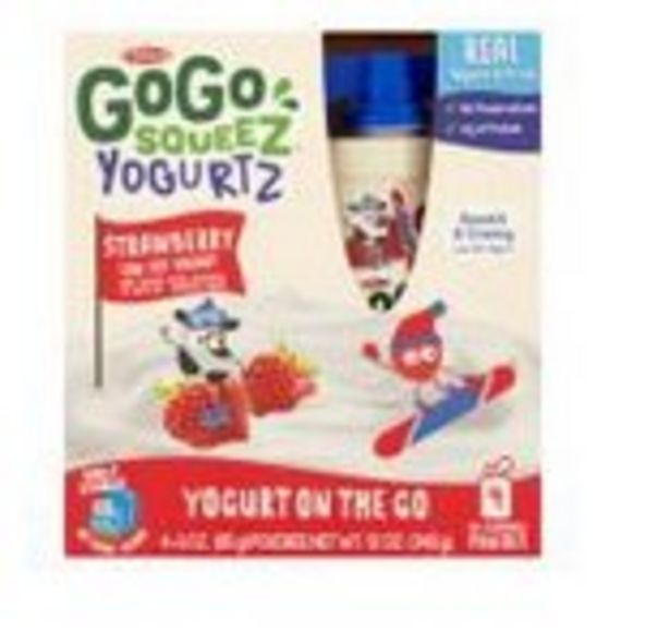 Save $1.00 On GoGo Squeez Yogurt or Pudding 4-Pack - Expires: 10/16/2021 deals at