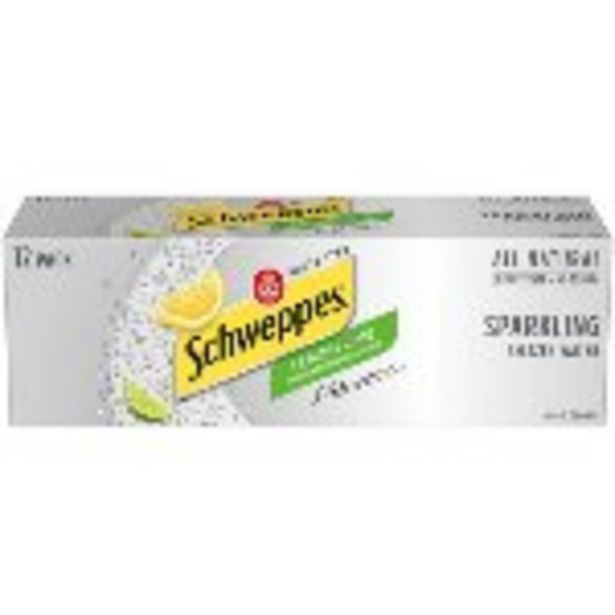 Save $2.00 On Schweppes Seltzer Cans 12-Pack - Expires: 10/23/2021 deals at