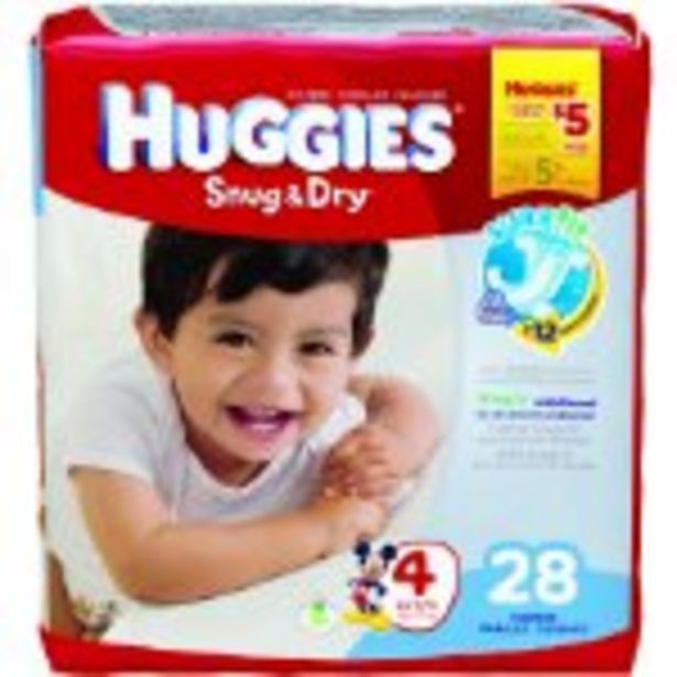 Save $2.00 On Huggies Diapers Jumbo Pack - Expires: 10/23/2021 deals at