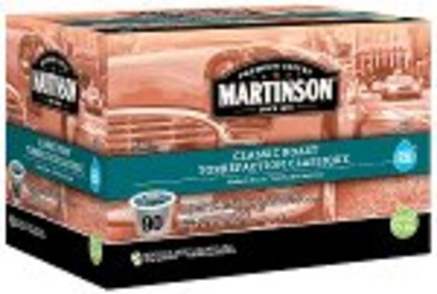 Save $9.00 On Martinson Coffee K-Cups - Expires: 03/06/2021 offer at $9