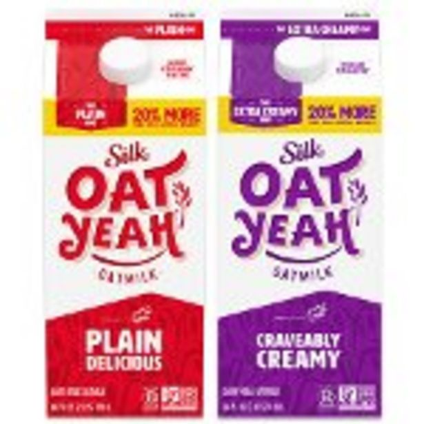 Save $1.00 on Silk® Oat Yeah™ Oatmilk - Expires: 03/27/2021 offer at $1