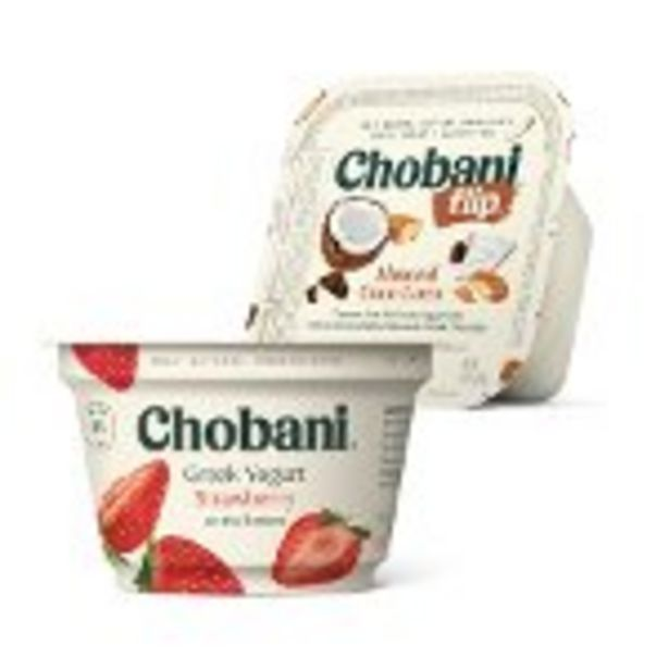 Save $2.00 on Chobani® Single Serve Yogurt - Expires: 10/30/2021 deals at