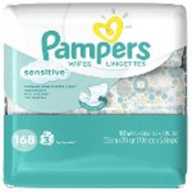 Save $0.25 on Pampers Wipes - Expires: 04/24/2021 offer at $0.25