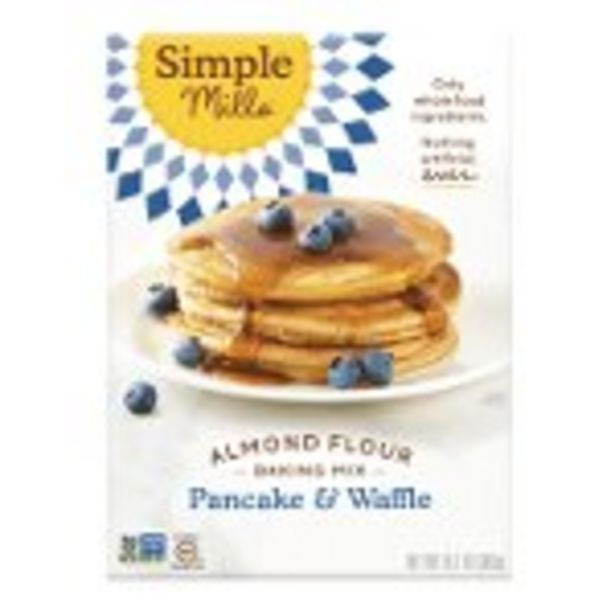 $1.00 Cash Back on Simple Mills Pancake & Waffle Mix - Expires: 03/24/2021 offer at $1