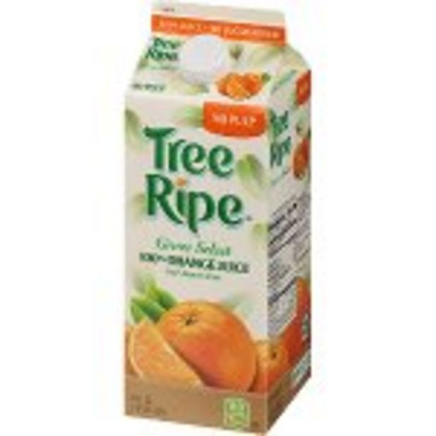 Save $.50 On TreeRipe Grove Select Juice - Expires: 08/07/2021 deals at