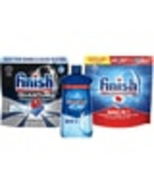 On Any ONE (1) Finish® Quantum® 22ct+, Finish® Max-In-1® 24ct+, Finish® Deep Clean 38ct+ Dishwasher Detergent, Finish® JET-DRY® deals at $1.5