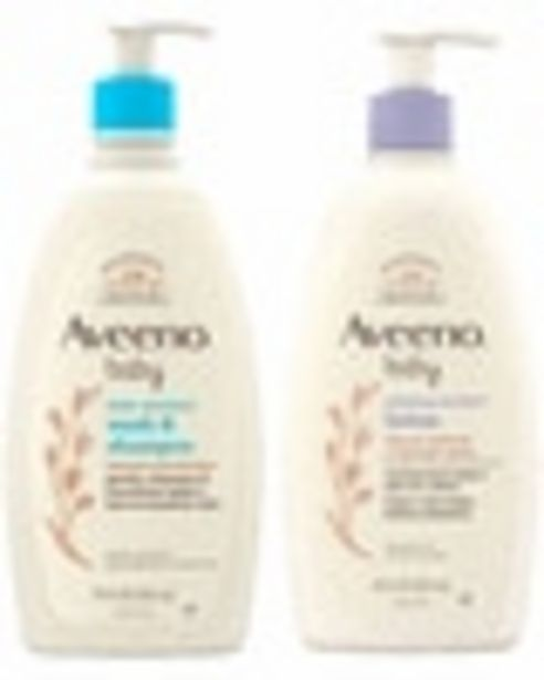 Any ONE (1) AVEENO® Baby Product (excluding trial & travel sizes and gift sets) deals at $2