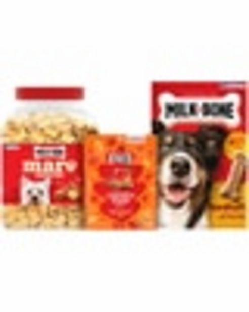 Off any ONE (1) Milk-Bone® dog treat product deals at $0.5