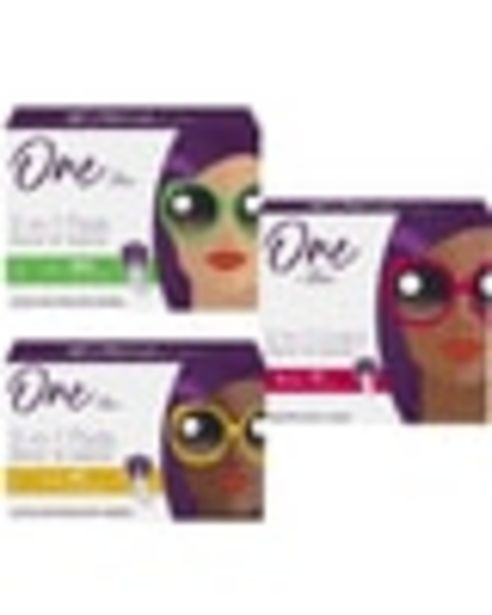 On any ONE (1) package of ONE BY POISE® product deals at $3