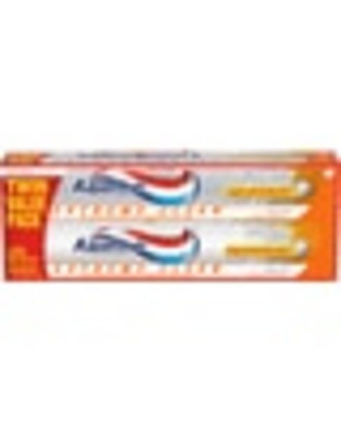 On ONE (1) Aquafresh Toothpaste (Twin or Triple Pack) deals at $1.5