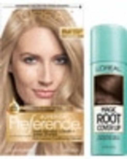 ANY ONE (1) L'Oréal Paris® Superior Preference, Excellence, Feria, LeColor Gloss, Root Precision or Magic Root Cover Up product deals at $2