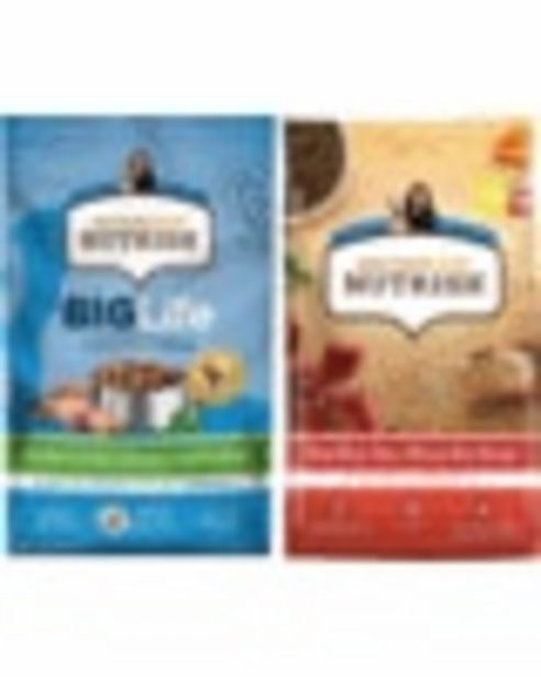 On any ONE (1) Nutrish®Dry Dog Food deals at $2