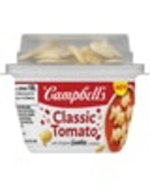 Any ONE (1) Campbell's® Soup with Crunchy Toppings deals at $0.75