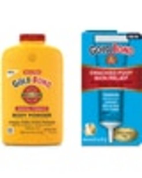 ONE (1) GOLD BOND® Medicated Product (excluding trial & travel sizes) deals at $1.25