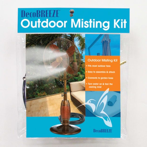 Outdoor Misting Kit Fan deals at $29.95
