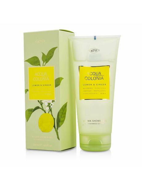 4711 Women's Acqua Colonia Lemon & Ginger Aroma Shower Gel Bath And Aids deals at $20