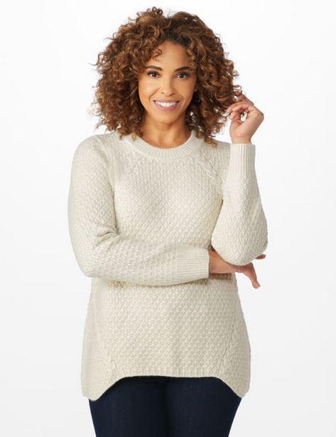 Lurex Sharkbite Pullover Sweater deals at $2495