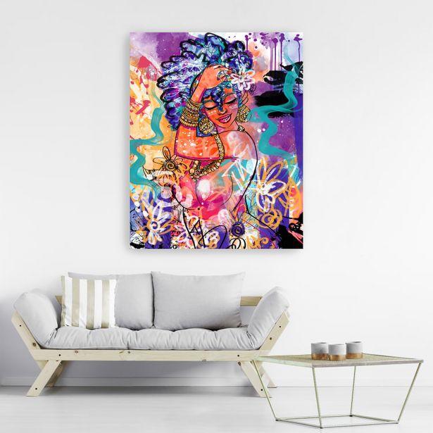 Gold Flowers Canvas Wall Art deals at $49.95