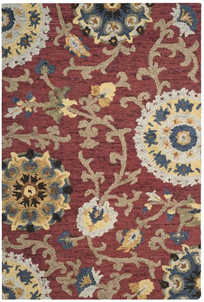 Safavieh Red Wool Rug deals at $34.95