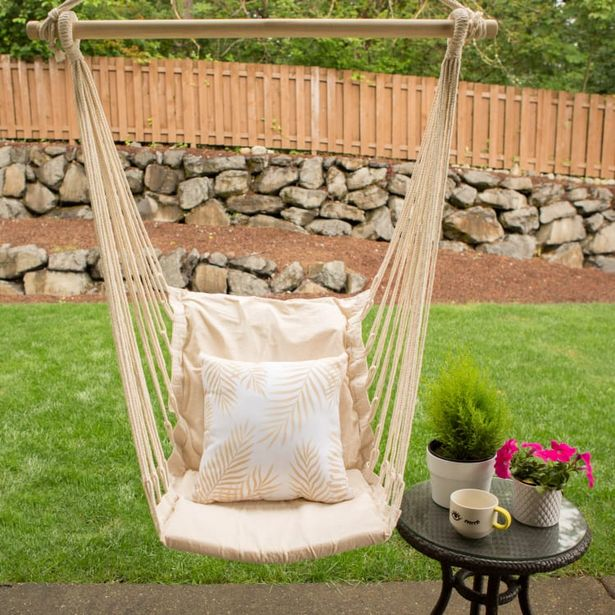 Cotton Padded Swing Chair deals at $57.99