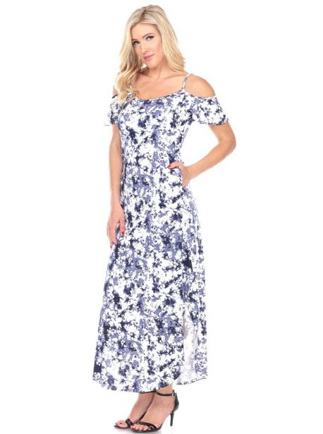 Cold Shoulder Tie-Dye Maxi Dress deals at $6695
