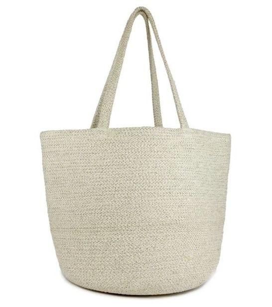 Lurex Straw Beach Tote w/ Double Handle deals at $64.95