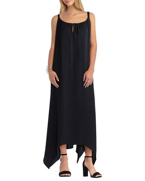 Gigi Parker Handkerchief Hem Maxi Dress deals at $9995