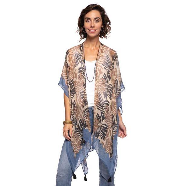 Georgia Tan Kimono Scarf deals at $34