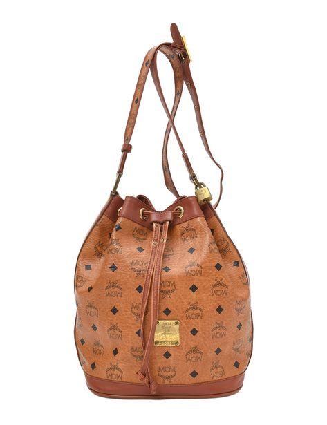 MCM Visetos Bucket Shoulder Bag deals at $445