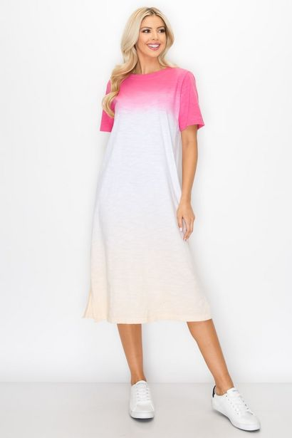 Cait Hand Dip-Dyed Dress deals at $100.95