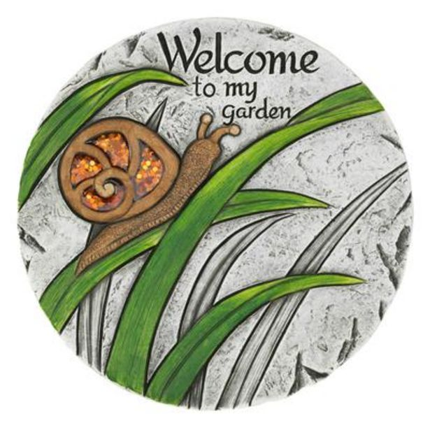 Welcome To My Garden Stepping Stone deals at $1999