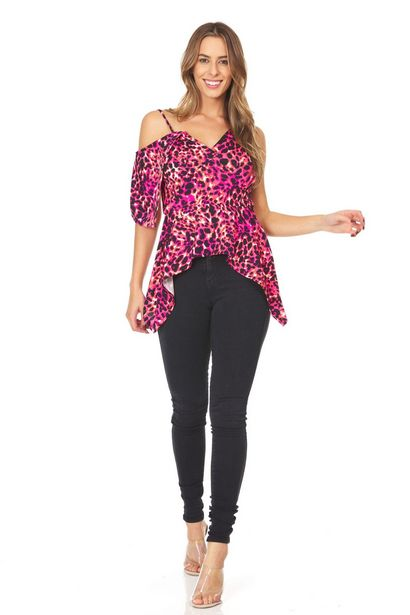 Sharkbite Print Strappy Top deals at $2995
