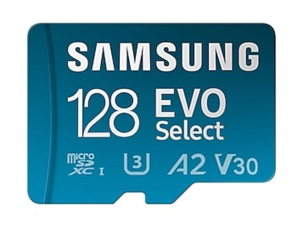 EVO Select + Adapter microSDXC 128GB deals at $18.99