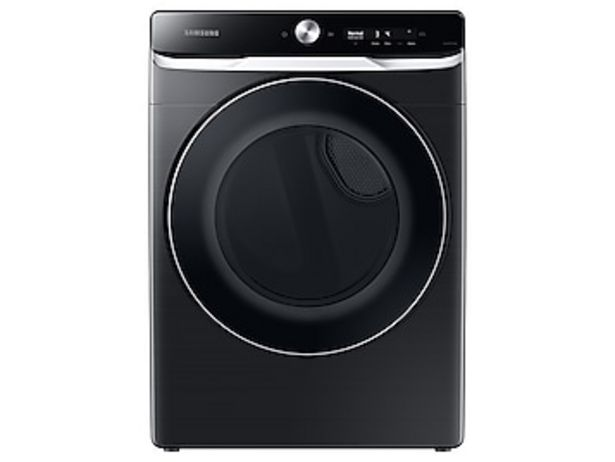 7.5 cu. ft. Smart Dial Gas Dryer with Super Speed Dry in Brushed Black deals at $1149