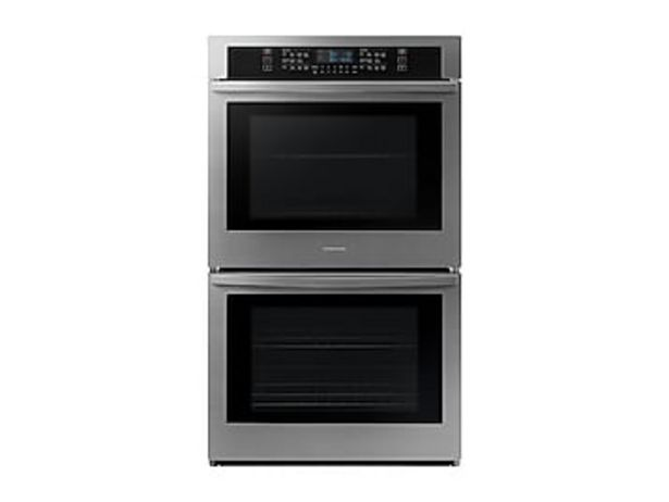 """30"""" Smart Double Wall Oven in Stainless Steel deals at $2114"""