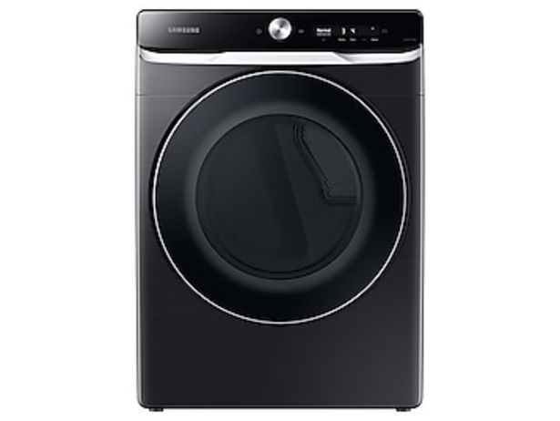7.5 cu. ft. Smart Dial Electric Dryer with Super Speed Dry in Brushed Black deals at $1049