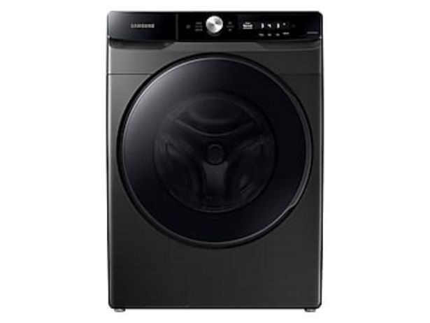 4.5 cu. ft. Large Capacity Smart Dial Front Load Washer with Super Speed Wash in Brushed Black deals at $829