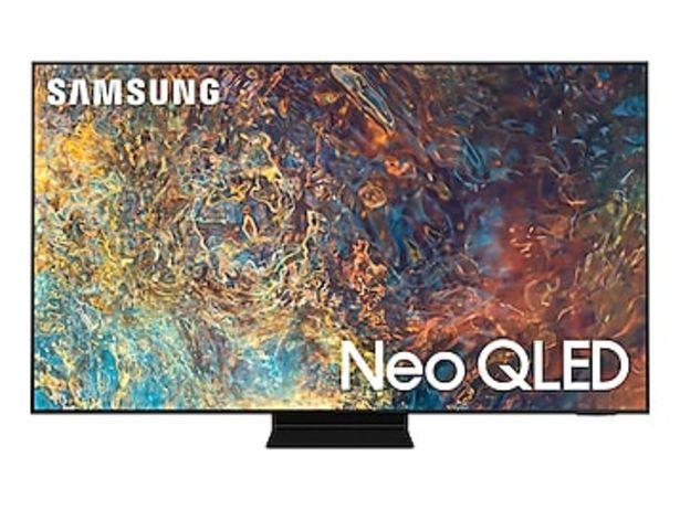 "85"" Class QN90A Samsung Neo QLED 4K Smart TV (2021) deals at $4299.99"