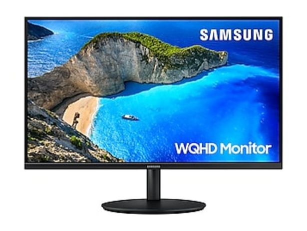 "27"" WQHD Monitor deals at $269.99"