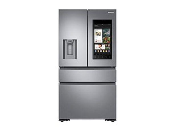 22 cu. ft. Family Hub™ Counter Depth 4-Door French Door Refrigerator in Stainless Steel deals at $3599