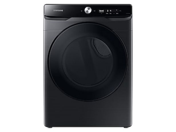 7.5 cu. ft. Smart Dial Gas Dryer with Super Speed Dry in Brushed Black deals at $1049