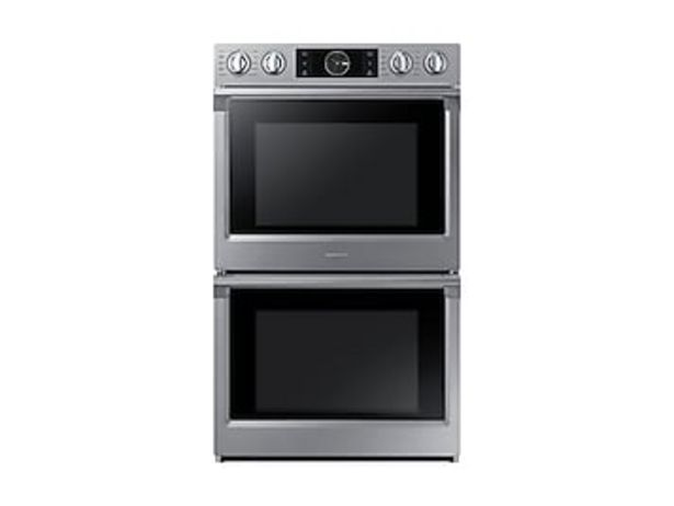 """30"""" Smart Double Wall Oven with Flex Duo™ in Stainless Steel deals at $3689"""