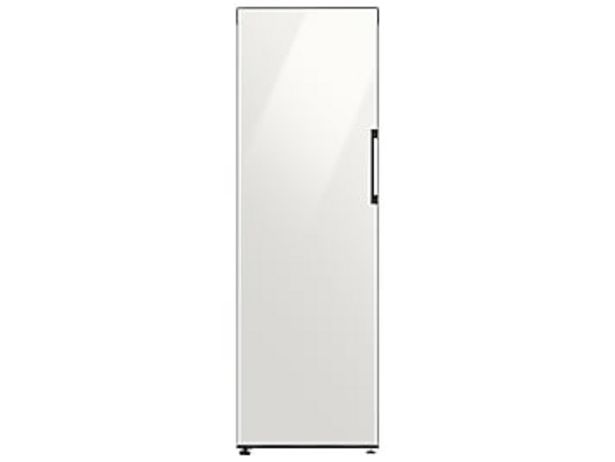 11.4 cu. ft. BESPOKE Flex Column refrigerator with customizable colors and flexible design in White Glass deals at $999