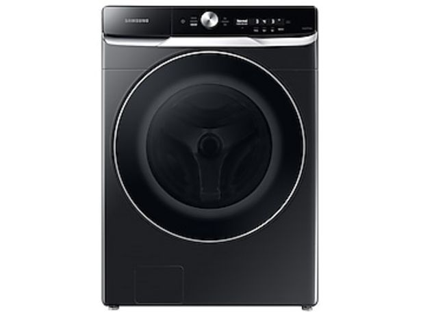 5.0 cu. ft. Extra-Large Capacity Smart Dial Front Load Washer with OptiWash™ in Brushed Black deals at $1099