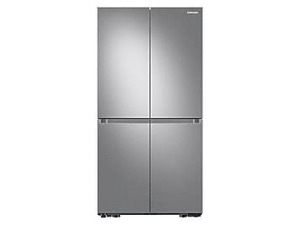 23 cu. ft. Smart Counter Depth 4-Door Flex™ Refrigerator with Beverage Center and Dual Ice Maker in Stainless Steel deals at $2599